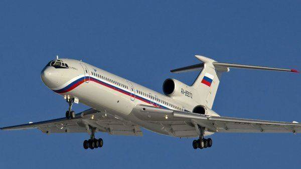 Ту-154, упавший в море над Сочи, был взорван?