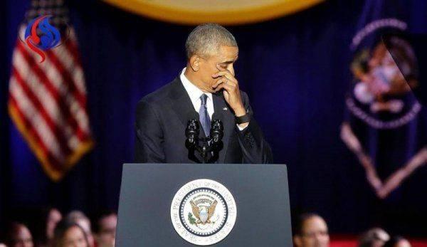 Последний раз Обама. Трогательная речь кровавого президента