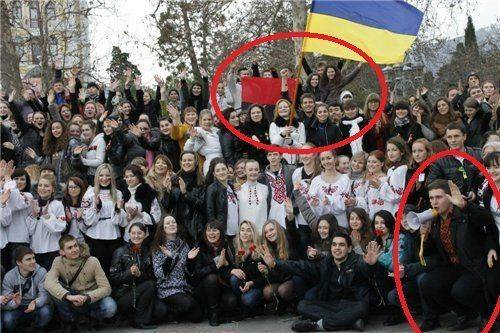 """Мгеровец-""""бандеровец"""" запретил митинг в поддержку Донбасса в Крыму"""