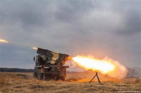 ВСУ перешли в активное наступление на Донбасс