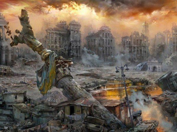 Украина на убой