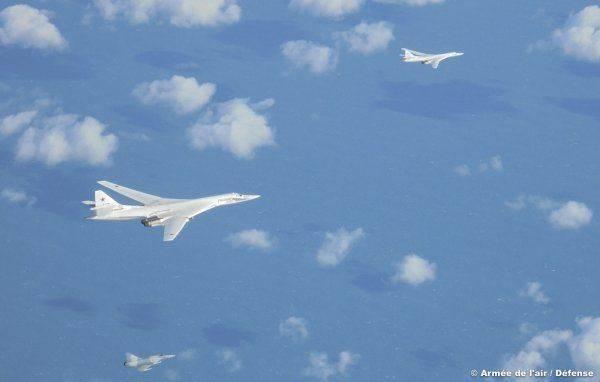 Реакция Франции на пролет российских Ту-160 над Бискайским заливом
