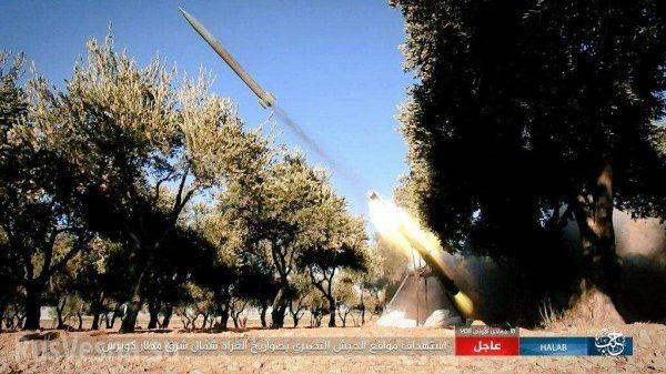 Русские Су-25 и «Тигры» громят ИГИЛ на востоке Алеппо, взята важная высота
