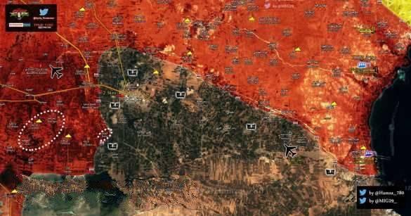 Кадры жестоких боев: «Тигры» и ВКС освобождает 8 поселков, ИГИЛ бросает большие силы для защиты последнего оплота в Алеппо