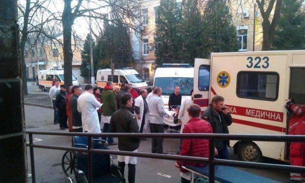 Киевский госпиталь переполнен «тяжелыми» АТОшниками