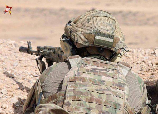 Русский спецназ в сирийской пустыне