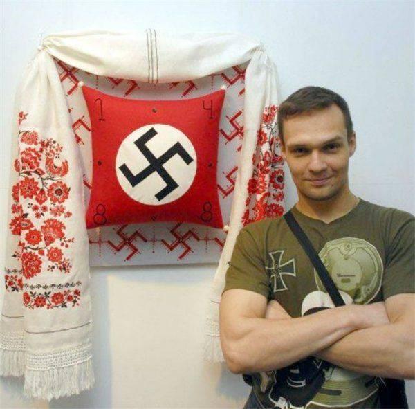 Оскорбивший ветеранов нацист Резниченко неожиданно для себя получил по лицу