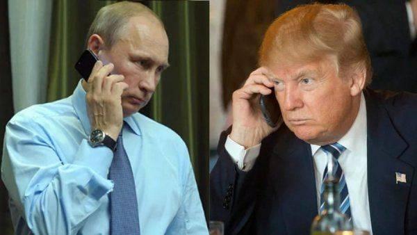Песков раскрыл детали телефонного разговора Путина и Трампа