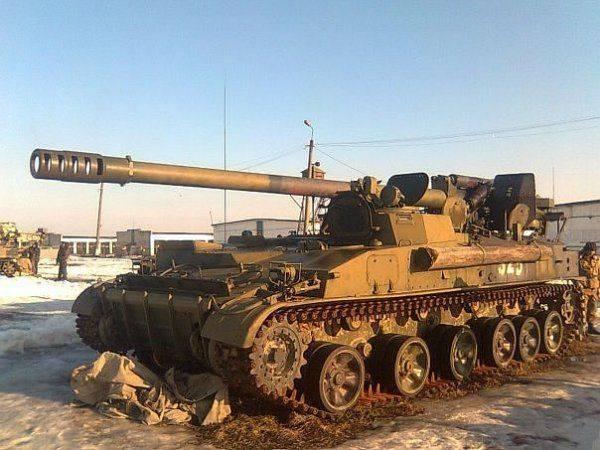 Артиллерия ВСУ в ходе войны на Донбассе