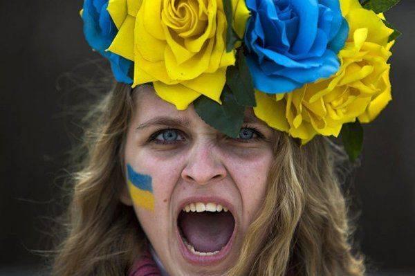 Злая тетка Украина