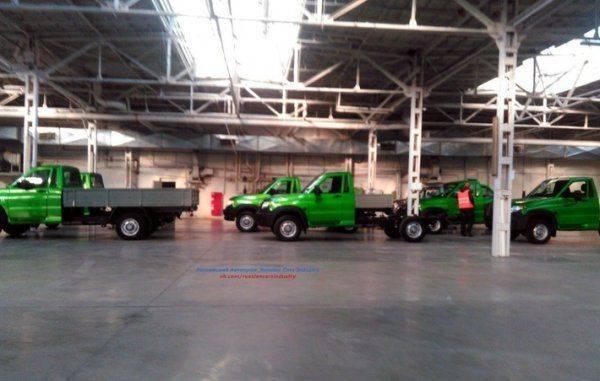 УАЗ приступил к тестовому производству новой модели Cargo