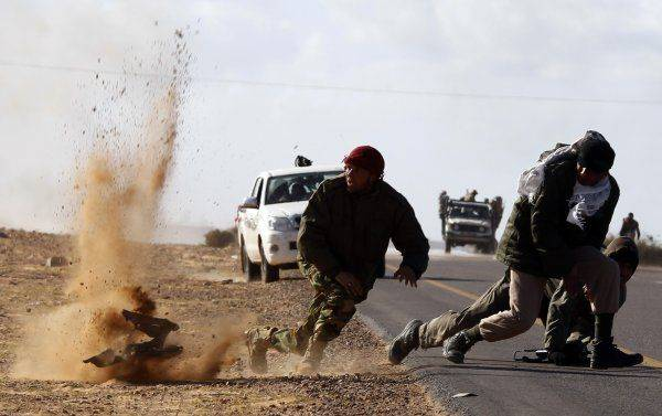 Война в Сирии: обескровленный халифат безуспешно контратакует САР