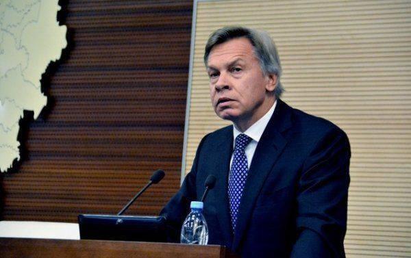 Пушков ответил на восторженные слова Порошенко о Мазепе
