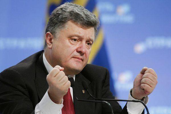 Предсмертные судороги главного политика Украины. Порошенко признался в своей беспомощности