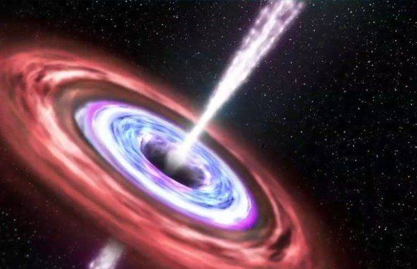 Ученые открыли черную дыру, «задыхающуюся» от звездной пыли