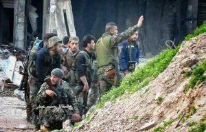 Кадры жестоких боев: Банды атакуют Дамаск и несут большие потери