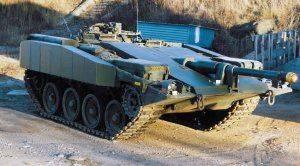 Правдиваый тест шведами Т 80 против и Strv 103 (S-tank)