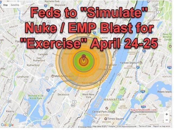 США готовит Нью-Йорк к ядерным учениям. Учениям ли?