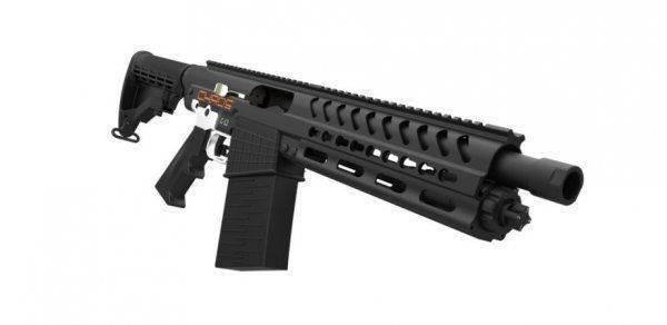 Chaos-12: дробовик в стиле AR-15