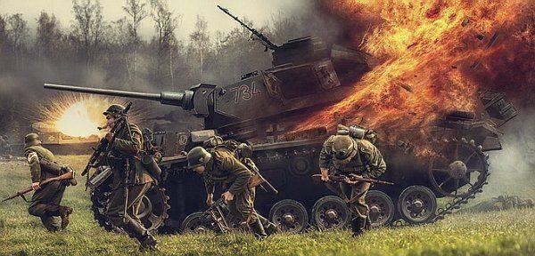 В украинском танке взорвался кондиционер