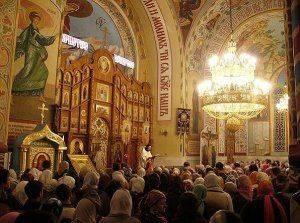 Пасха в Покровском соборе Севастополя взбудоражила воображение украинских СМИ