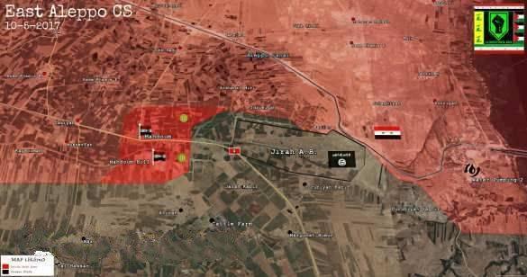 ВКС России и «Тигры» начали масштабную операцию и отбросили террористов на востоке Алеппо
