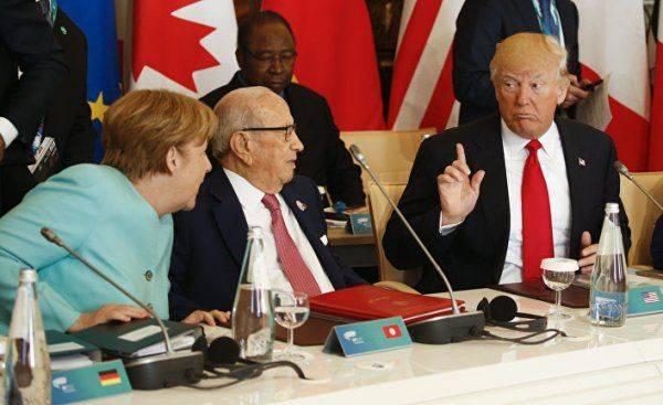 Старушка Европа отворачивается от Трампа