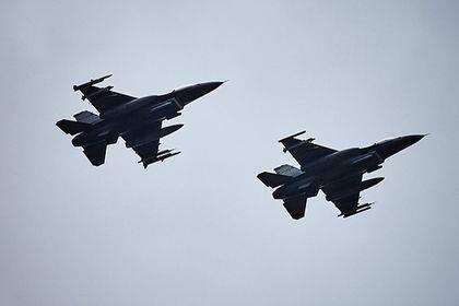 СМИ узнали о принадлежности перехвативших самолет Шойгу истребителей F-16