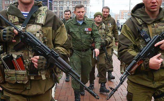 Испытания пистолета «Оплот» с главой ДНР
