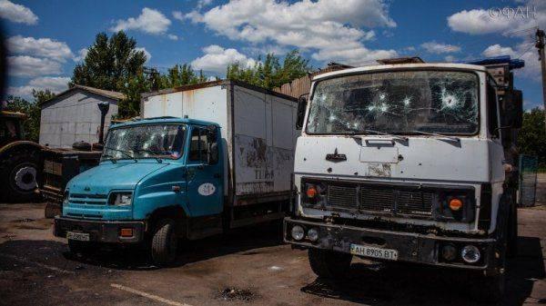 ВСУ атаковали сельскохозяйственную технику в ДНР