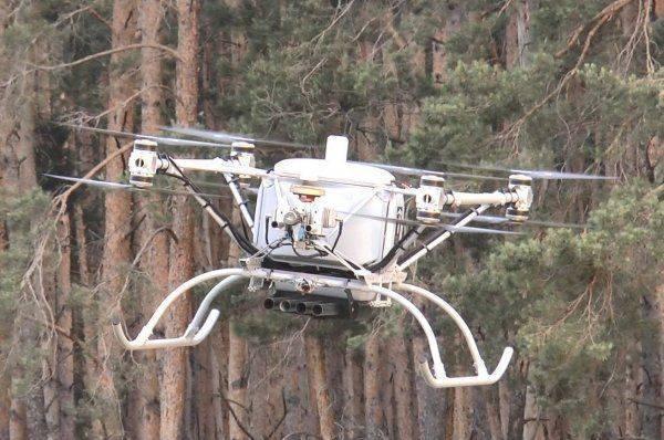 Matrix-UAV испытал пуск неуправляемых ракет из тяжелого украинского дрона «Командор»