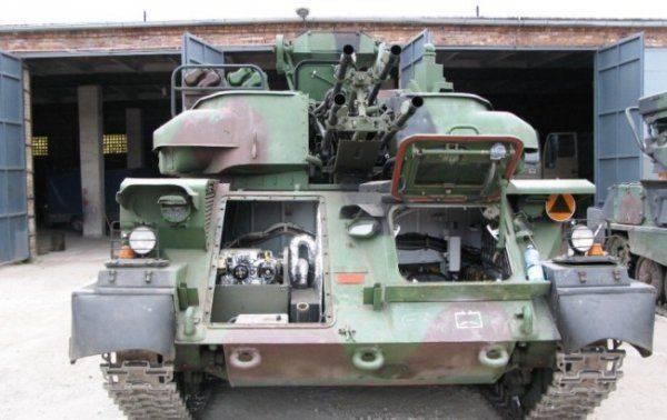 На Украине собираются  модернизировать  ЗСУ-23-4 «Шилка»