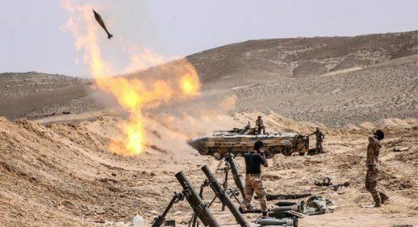 Армия Сирии атаковала позиции проамериканских сил SDF, чтобы спасти пилота Су-22, сбитого коалицией США