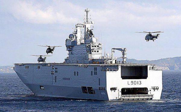 Россия выиграла борьбу за право быть единственным поставщиком вертолетов для египетских «Мистралей»