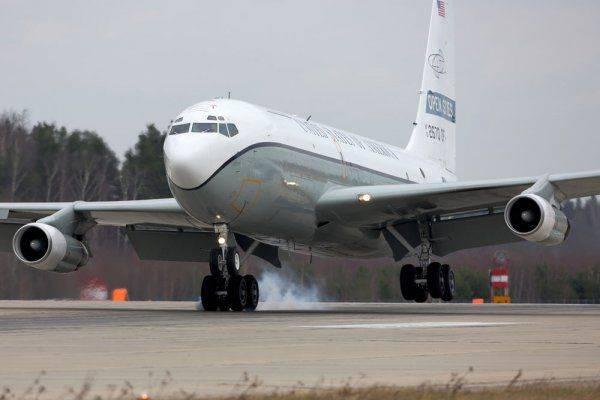 Наблюдательный полет США и Украины над Россией в очередной раз сорвался