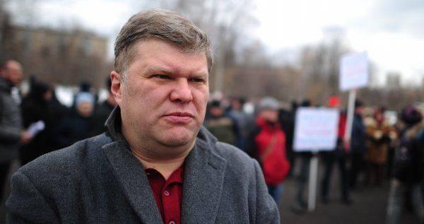 Сергей Митрохин – шумная шестеренка безнадежного «Яблока»