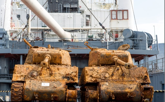 Два легендарных американских «Шермана» обнаружили на дне Баренцева моря