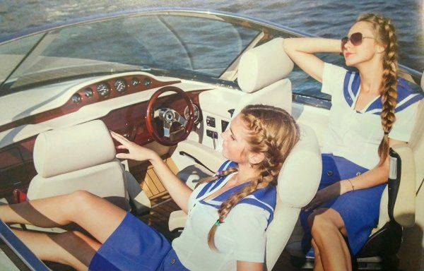 Водяной «Bentley»: в России создали новейший катер типа «Дельфин»