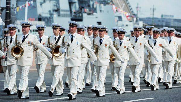 Военно-морской флот получит Главный парад