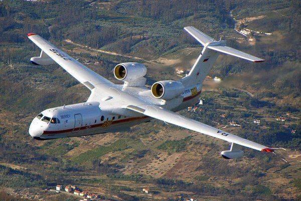 Самолет-амфибия Бе-200: производство машины наладят в Китае