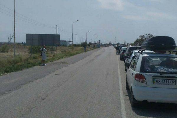 Ад на украинско-крымской границе