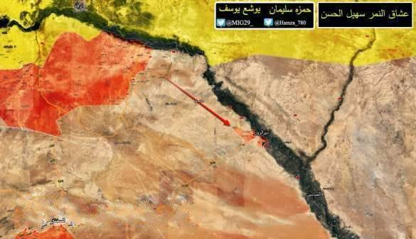 «Тигры» и ВКС РФ за 2 дня освободили от ИГИЛ 7 городов и поселков на юге Ракки
