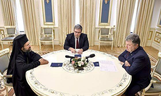 Константинополь и Госдеп уже назначили на Украину своего предстоятеля?
