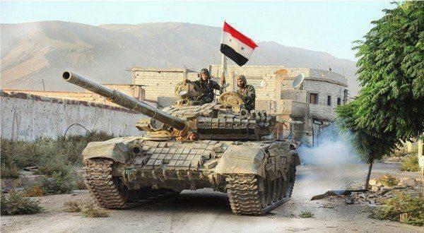Правительственная армия Сирии начала наступление на базу США