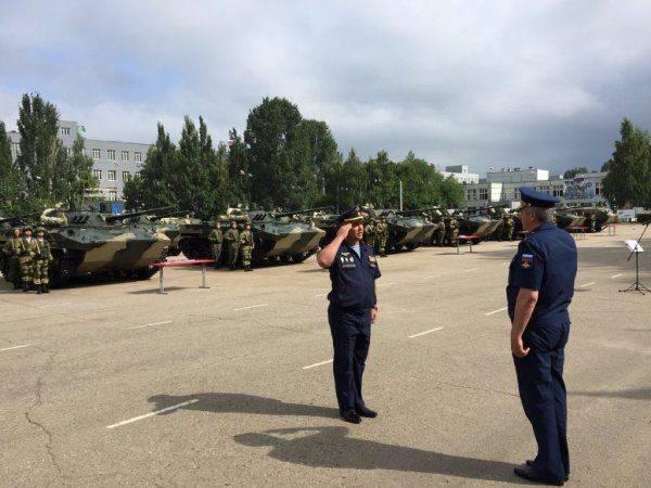 31-я гвардейская отдельная ДШБ получила второй батальонный комплект БМД-4М