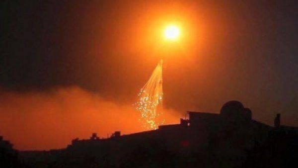 Огненный ад в Ракке: ВВС США применяют оружие, прожигающее людей насквозь