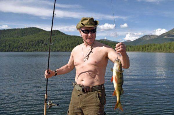 Торс Путина сводит американцев с ума