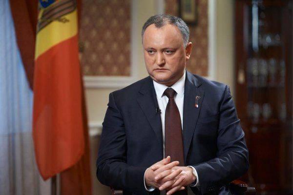 Игорь Додон против планов США построить в Молдавии военные базы
