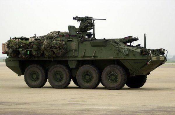 Лазерное перевооружение США: бронемашины Stryker готовят к «мощной» модернизации