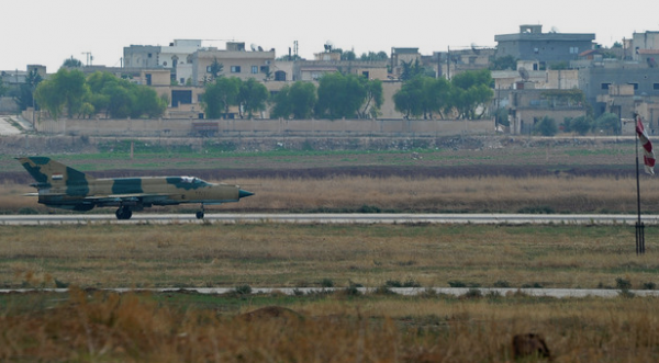 В Сирии сбит истребитель армии Асада